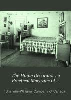 The Home Decorator PDF
