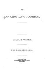 The Banking Law Journal: Volume 3