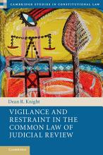 Vigilance and Restraint in the Common Law of Judicial Review PDF