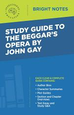 Study Guide to The Beggar's Opera by John Gay