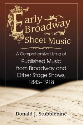 Early Broadway Sheet Music PDF