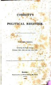 Cobbett's Political Register: Volume 36
