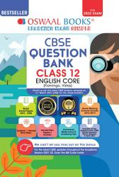 Oswaal CBSE Question Bank Class 12 English Core Book Chapterwise   Topicwise Includes Objective Types   MCQ s  For 2022 Exam  PDF