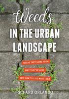 Weeds in the Urban Landscape PDF
