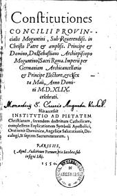 Institutio ad pietatem christianam, secundum doctrinam catholicam, ...