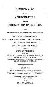 Agricultural Surveys: Caithness (1812)