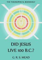 Did Jesus Live 100 B C   PDF