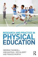 Research and Practice in Physical Education PDF