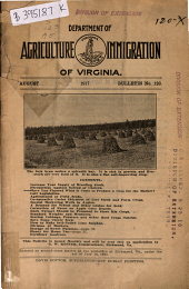 Bulletin - Virginia Department of Agriculture and Immigration: Issue 120