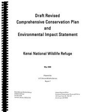 Draft revised comprehensive conservation plan and environmental impact statement  Kenai National Wildlife Refuge PDF