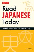 Read Japanese Today PDF