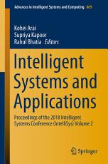Intelligent Systems and Applications PDF