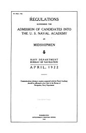 Admissions Regulations