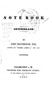 My Note Book: Switzerland