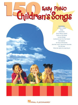 150 Easy Piano Children s Songs  Songbook