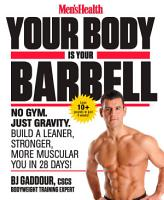 Men s Health Your Body Is Your Barbell PDF