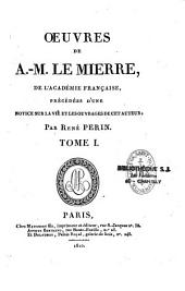 Oeuvres D'Antoine-Marin Le Mierre...