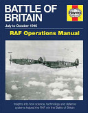 Battle of Britain Manual July to October 1940 - RAF Operations Manual