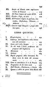 Vicende Della Letteratura: Libri Cinque, Volume 2
