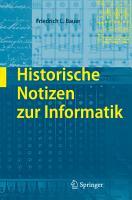 Historische Notizen zur Informatik PDF