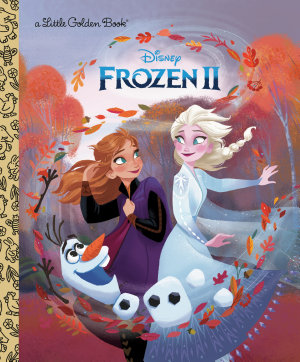 Frozen 2 Little Golden Book  Disney Frozen
