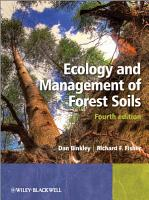 Ecology and Management of Forest Soils PDF