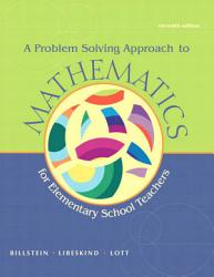 A Problem Solving Approach To Mathematics For Elementary School Teachers Book PDF