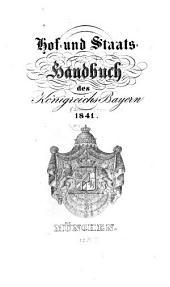 Hof- und Staatshandbuch des Königreichs Bayern: 1841