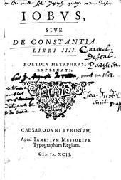 Metaphrasis Poetica Librorum Aliquot Sacrorum
