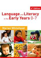Language   Literacy in the Early Years 0 7 PDF
