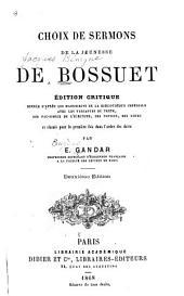 Choix de sermons de la jeunesse de Bossuet