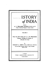 History of India: Volume 2