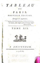Tableau de Paris: Volume12
