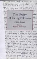 The Poetry of Irving Feldman PDF