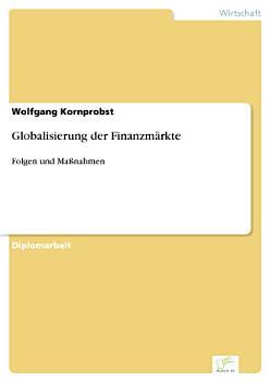 Globalisierung der Finanzm  rkte PDF