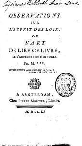 Suite de la défense de l'Esprit des lois ou examen de la réplique du Gazetier ecclésiastique, à la défense de l'Esprit des lois