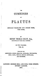 The Comedies of Plautus PDF