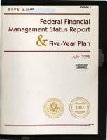 Federal Financial Management Report PDF