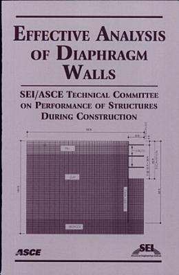 Effective Analysis of Diaphragm Walls PDF