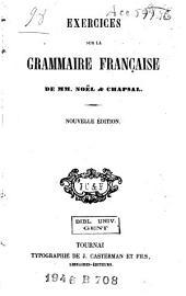 Exercices sur la grammaire française