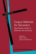 Corpus Methods for Semantics PDF