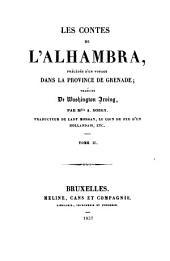 Les contes de l'Alhambra: précédés d'Un voyage dans la province de Grenade, Volume2