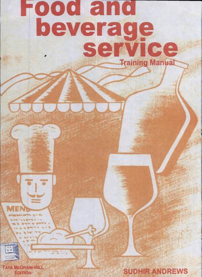 Food and Beverage Service Manual PDF