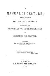 A Manual of Gesture