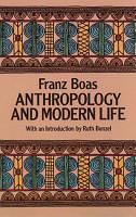 Anthropology and Modern Life PDF