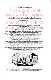 De wijd-beroemde voyagien na Oost- en West-Indiën, mitsgaders andere gedeeltens des werelds, gedaan door de Engelsen: Volume 2