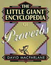 The Little Giant Encyclopedia of Proverbs PDF