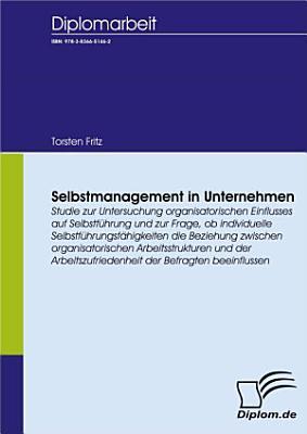 Selbstmanagement in Unternehmen PDF