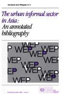 The Urban Informal Sector in Asia PDF
