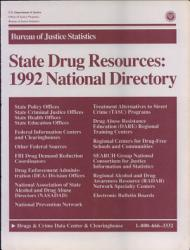 State Drug Resources National Directory 1992  Book PDF